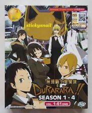 Anime DVD Durarara!! Season 1-4 COMPLETE Vol. 1-61 End ENG DUB All Region