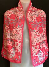 """Pink Paisley Scarf By Ford Breast Cancer Warriors In Pink 54"""""""