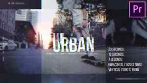 Urban Opener for Premiere Pro