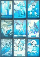 """""""DC COSMIC CARDS"""" COMPLETE 10 HOLOGRAM CHASE CARD SET (1992 IMPEL)"""