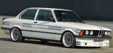 7pcs/7tlg 2d Decal stickers SILVER BMW Alpina E21 E30 E24 E10 Stickers Set