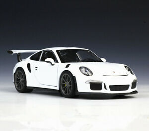 Welly 1:24 Porsche 911 GT3 RS Diecast Model SportCar New in Box Collection Gift