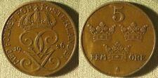 Sweden : 5 Ore 1926 XF- #779.2 IR9848
