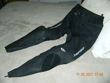 NWOT AGV Sport Willow Perforated Leather Pants Size 34
