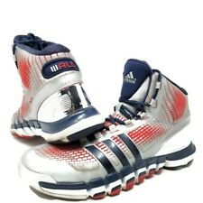 Adidas John Wall #2 Adipure Crazyquick Basketball Shoes Silver-Blue-Red  Sz 10.5