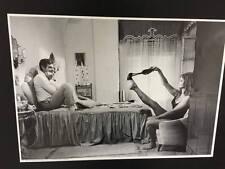 Poster Loren Mastroianni Ieri, oggi e domani 35x50cm ristampa bianco e nero
