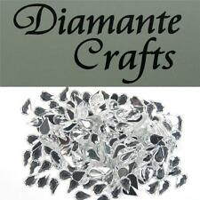 200 x 6mm Clear Teardrops Diamante Loose Flat Back Rhinestone Vajazzle Body Gems