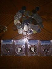✯ ESTATE SALE! ✯ Silver and Gold ✯ PCGS Slabbed GRADED U.S. Proof Coin Hoard ✯