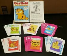 Parker Brothers Garfield Kids Card Game 1978 Complete
