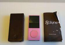 Microsoft Zune Pink 4Gb Mp3 Player