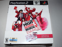 High School Musical 3 Senior Year Dance Bundle Playstation 2 PS2 Game New Sealed