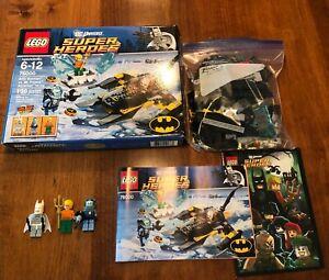 LEGO DC Superheros Set 76000 Arctic Batman vs. Mr. Freeze: Aquaman on Ice RARE