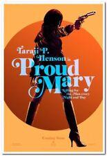 PROUD MARY - 2018 - Original 27x40 ADVANCE Movie Poster - TARAJI P. HENSON