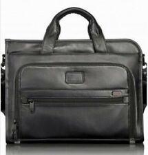 Tumi Alpha Leather Organizer Briefcase