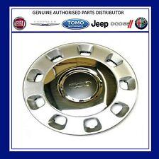 "Genuine New FIAT 500 argento e cromo centro ruota rifinitura 14 ""HUB CAP 50901871"