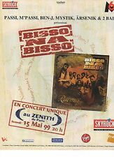Publicité Advertising 1999 radio SKYROCK bisso na bisso