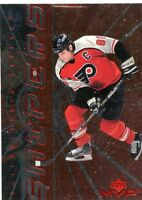 ERIC LINDROS 1998-99 Upper Deck MVP Snipers Insert #S7 Philadelphia Flyers