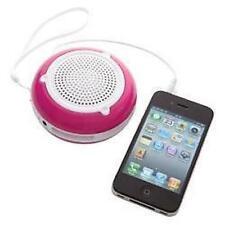 Groov-e gvsp200 Gogo RICARICABILE ALTOPARLANTE PORTATILE PER IPOD IPHONE MP3 Rosa Nuovo
