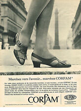 PUBLICITE ADVERTISING 024   1965   CORFAM  chaussures  ROGER VIVIER