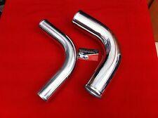 Tubo manicotto siliconico giunzione ALLUMINIO curva 90° gradi 80mm Silicon Hoses