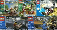 LEGO Kingdoms Knights Castle 5994 5998 5999 30061 30062 Ritter