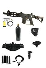 NEW Tippmann PROJECT SALVO CQB Paintball Gun Pack W/Remote Tactical Folding Grip