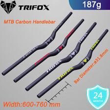 Carbon fiber handlebar mountain bike bicycle mtb cycling downhill Riser 31.8mm