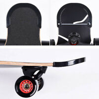 2Pcs/set Skateboard Guard Deck Protect Strips Rubber Edge Cover Accessories Kit
