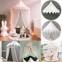 Kids Play House Cotton Bed Tent Canopy Foldable Crib Tent  Baby Room Home Decor