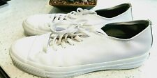 Converse All Star  - White Leather UK9 EU42.5