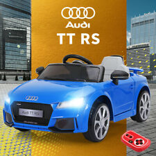 Audi TT RS 12V Kids Ride On Car Toy Licensed Electric 2 Motor Remote Control