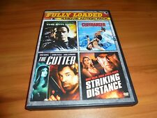 The 6th Day/The Cutter/Cliffhanger/Striking Distance (DVD, 2015, 2-Disc) Used