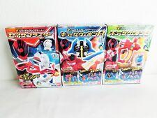 Bandai Power Rangers Kyuranger kit all 3 Complete Set Seizablaster Weapon Japan
