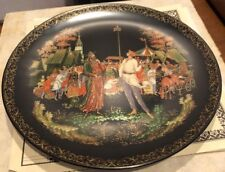 Russian Legends Plate The Priest and his Servant Balda #7