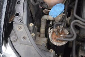 2010 VW TOURAN WINDSCREEN WASHER FLUID RESERVOIR BOTTLE  & PUMPS 1T0955453E