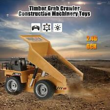 HUI NA TOYS NO.1540 2.4G 6CH Alloy Dump Construction Engineering RC Truck M1W9