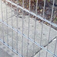 Tige double Barrière de mat Set galvanisé/203cm haut 20m long Clôture en métal
