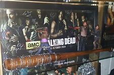**BULLET BAT** Negan Lucille Bat Prop/Replica Inscribed Lucille I AM NEGAN~~TWD