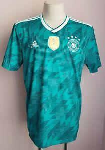 Germany 2018 - 2019 Away football Adidas shirt size XL