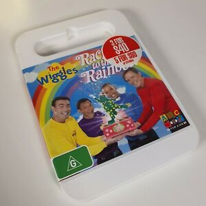 THE WIGGLES: RACING TO THE RAINBOW Original Cast DVD R4 Au Good Condition Family