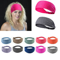 Men/Women Yoga Headband Sport Sweatband Running Hair Band Fitness Bandage