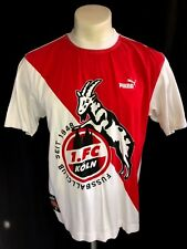 S/M vtg 90'S PUMA FC KOLN SHIRT FOR SOCCER JERSEY FOOTBALL FUSSBALL GERMANY RARE