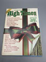 High Times Magazine No 7, COLLECTOR'S DOUBLE ISSUE, Dec/Jan 1975