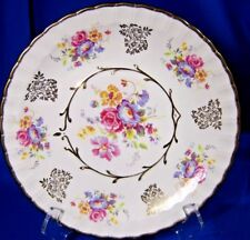 VTG. AVON PLATE BY WOOD & SONS BURSLEM,ENGLAND BEAUTIFUL PLATE WITH  FLOWERS