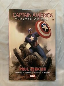 Captain America: Theater of War Hardcover