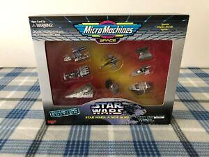VTG  * NIB * 1995 Star Wars Micro Machines Collectors Edition A NEW HOPE Sealed!