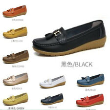 Ladies Moccasins Women Bowknot Deck Casual Boat Loafers Slip On Comfort Shoes BB