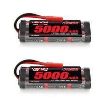 Venom 7.2V 5000mAh NiMH Battery with HXT 4.0mm Plug x2 Packs