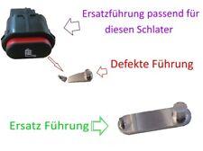 1x Ford Sitzheizung Schalter Metallführung z.B. Fiesta Mondeo KA Cougar uvm