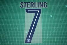Manchester City 17/18 #7 STERLING HomeKit Nameset Printing